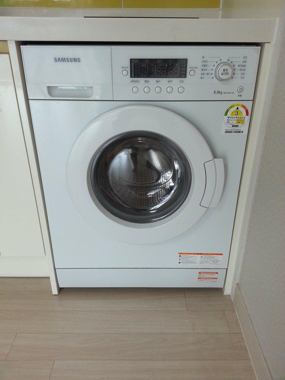 Zabudovaná pračka