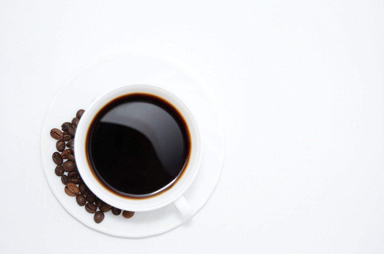 Šálek voňavé kávy