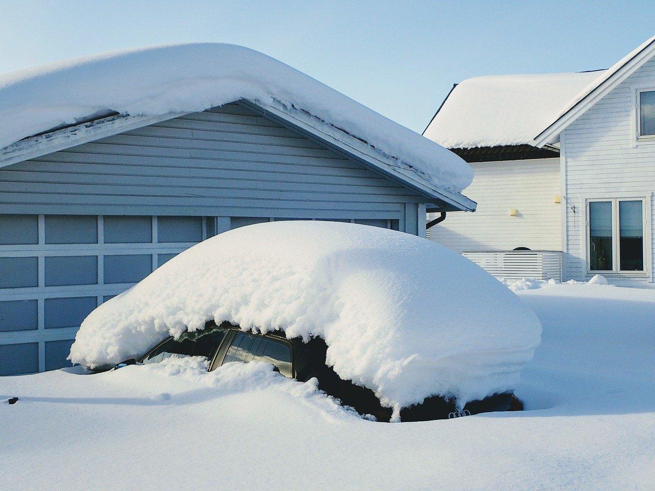 Sníh dá vašemu domu zabrat