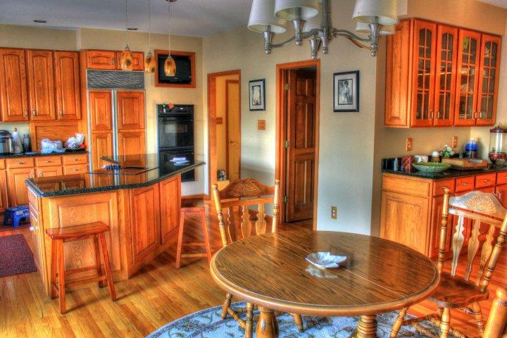 Dřevo v interiéru je zkrátka klasika