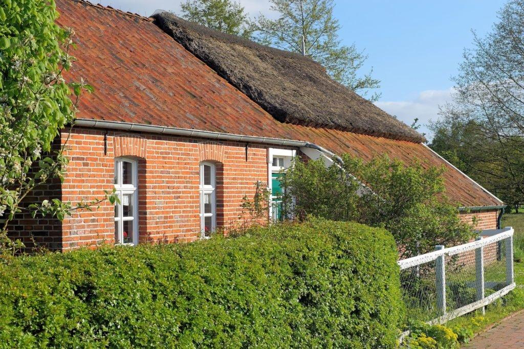 Dům s živým plotem