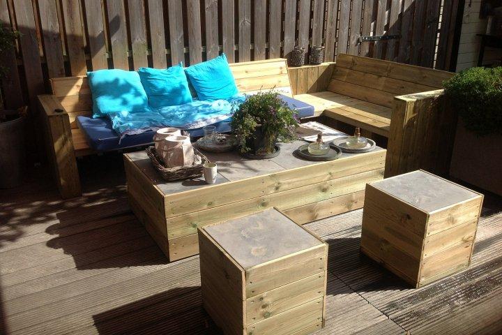 Zahradní posezení jako oáza klidu a relaxace