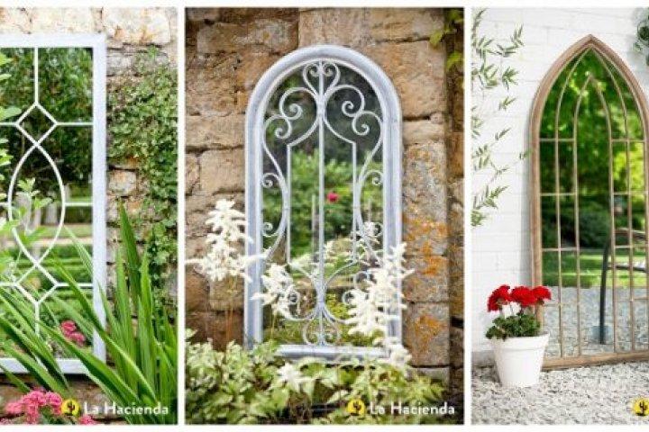 14 jednoduchých inspirací na zahradní branky a zrcadla