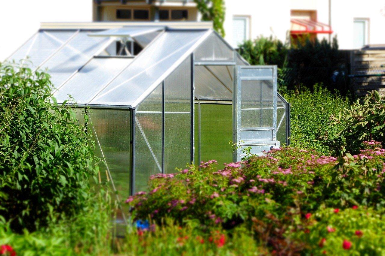 Jednoduchý skleník